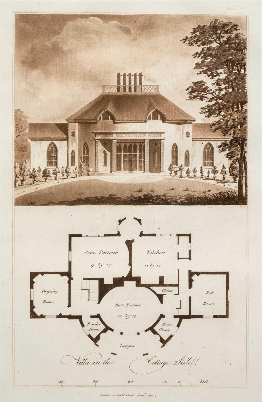 Lot 317 - Plaw (John). Ferme Ornee; or Rural Improvements, 1795