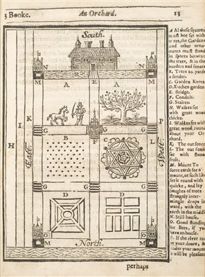 Lot 15-Markham (Gervase). A Way to Get Wealth & other works, 1638