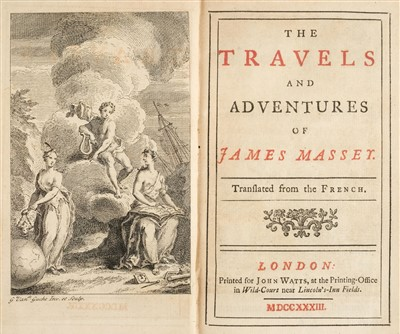 Lot 166 - Tyssot de Patot (Simon). The Travels and Adventures of James Massey, 1733