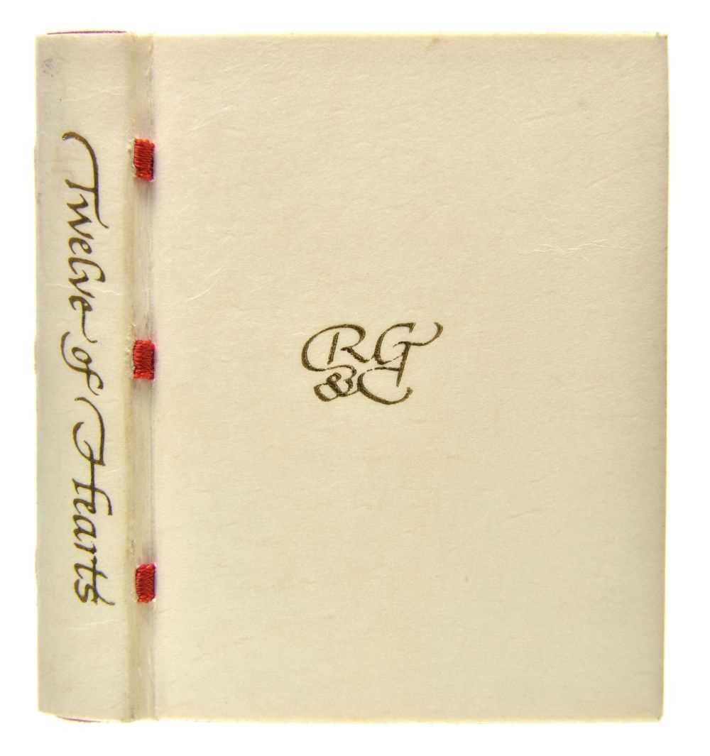 Lot 502-Miniature book. Twelve of Hearts, 1982