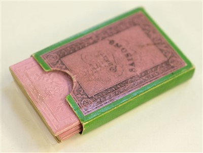 Lot 506-Miniature books. Les Quatre Saisons, circa 1825