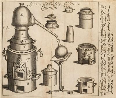 Lot 73-Hartman (George). The True Preserver and Restorer of Health, 1684