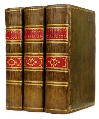 Lot 296 - Lavater (Johann Caspar). Essays on Physiognomy, green morocco binding, 1789