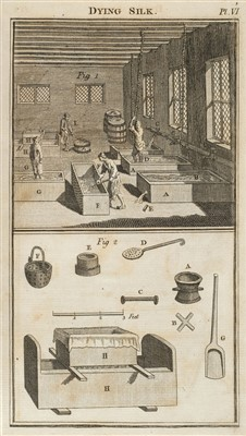 Lot 292 - Hellot (Jean). The Art of Dying Wool, Silk, and Cotton, 1789