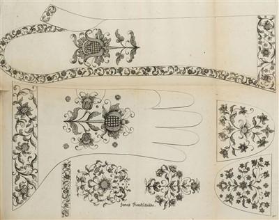 Lot 156-Helmin (Margaretha). Kunst-und Fleiss-übende Nadel-Ergötzungen, circa 1725