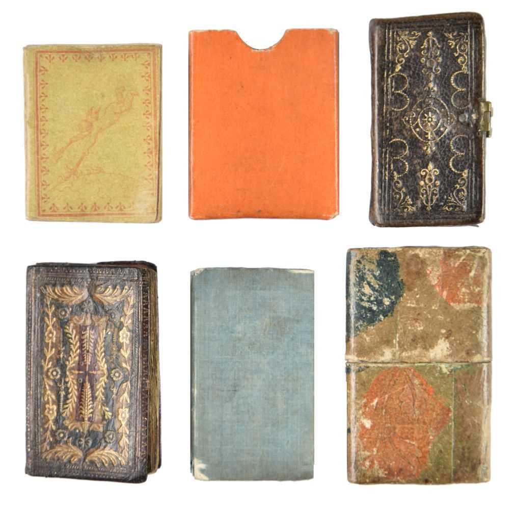 Lot 507-Miniature books. Taschen Kalender für das Schalt-Jahr 1824