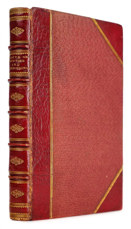 Lot 337 - Baxter (John). The Sister Arts, Paper-Making, Printing and Bookbinding, 1806
