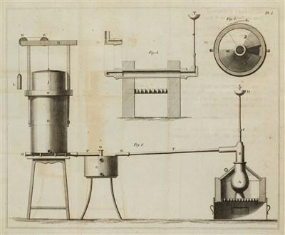 Lot 322 - Beddoes (Thomas, & James Watt). Factitious Airs, 3rd edition, 1796