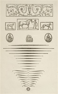 Lot 298 - Type Specimen. A Specimen of Printing Types, Alexander Wilson and Sons, Glasgow, 1789