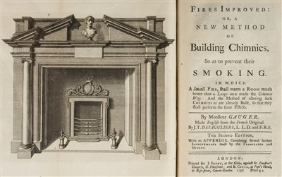 Lot 173 - Gauger (Nicolas). Fires Improved, 2nd edition in English, 1736