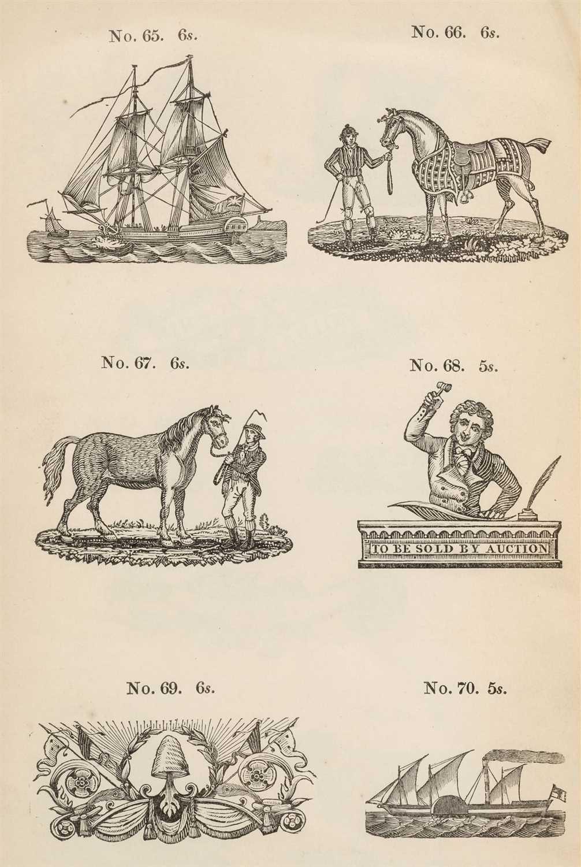 Lot 376 - Type Specimen. Specimen of Printing Types by Caslon, Son & Livermore, 1838