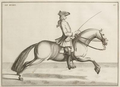 Lot 229 - D'Eisenberg (Friedrich Wilhelm, Baron von). L'Art de Monter a Cheval, 1759