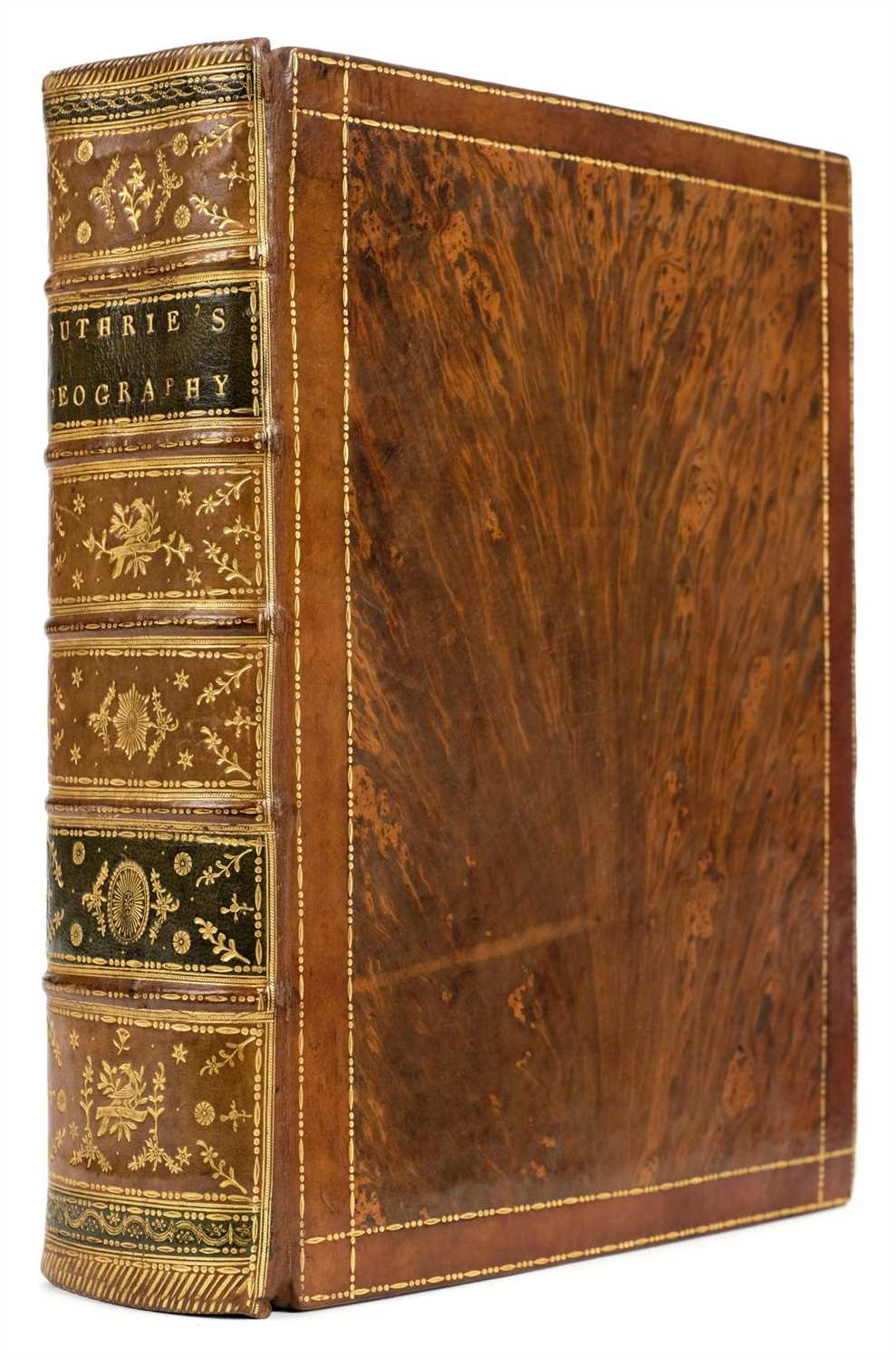Lot 309 - Guthrie (William). A New System of Modern Geography, 1792