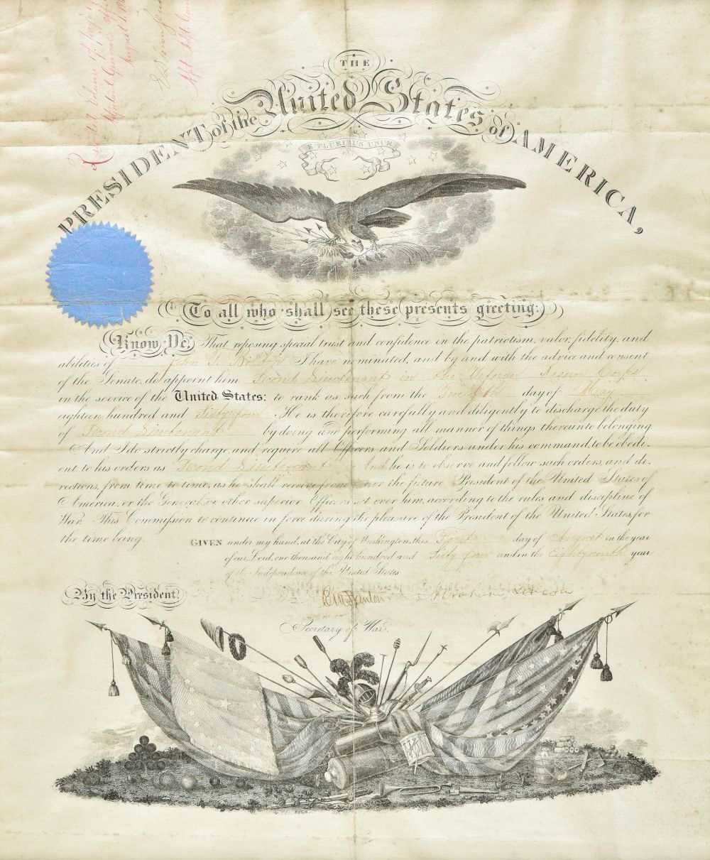 Lot 380-Lincoln (Abraham). The Assassination of Abraham Lincoln Documents
