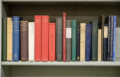 Lot 397 - Keynes (Geoffrey). John Ray, A Bibliography, 1951 [and other bibliographical reference]