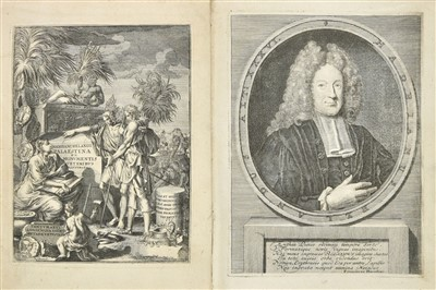 Lot 28-Reland (Adriaan). Palaestina, 2nd edition, Nuremberg, 1716
