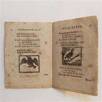 Lot 488-Cock Robin. The Death and Burial of Cock Robin, circa 1800