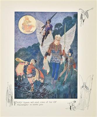 Lot 562-Knowles (Horace J., illustrator). Peeps Into Fairyland, 1924