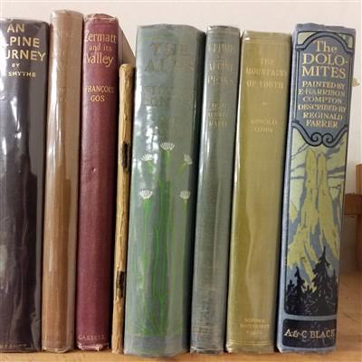 Lot 25-Mathews (Charles Edward). The Annals of Mont Blanc, 1st edition, 1898