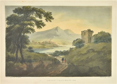 Lot 47-Gilpin (William). Six Landscapes, 1794