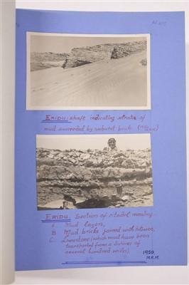 Lot 23-MacLeod (Murdo Kennedy). 'The Subba Immersionists of Iraq', c.1950, original typescript