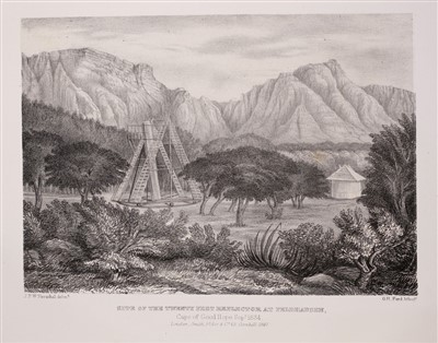 Lot 16-Herschel (John F. W.). Astronomical Obsevations made at the Cape of Good Hope, 1st edition, 1847
