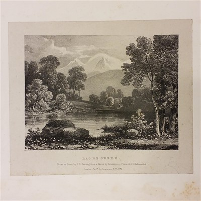 Lot 1-Auldjo (John). Narrative of An Ascent To The Summit of Mont Blanc, 1827.