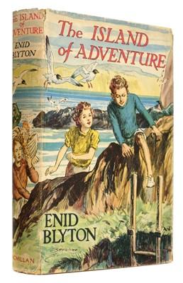 Lot 532-Blyton (Enid). The Island of Adventure, first edition, Macmillan & Co., 1944