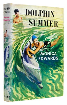 Lot 560-Edwards (Monica). Dolphin Summer, first edition, Collins, 1963