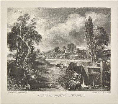 Lot 44-Constable (John). English Landscape Scenery, 1st edition, 1855