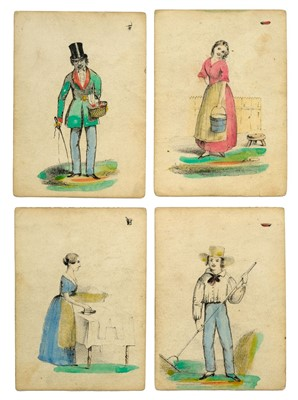 Lot 512-Card Game. The Improved and Illustrated Game of Doctor Busby