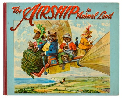 Lot 530-Bingham (Clifton). The Airship in Animal Land, Pictured by G. H. Thompson, [1910]