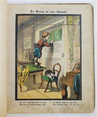 Lot 570-Moveable. Neues Verwandlungs-Bilderbuch, [1875]
