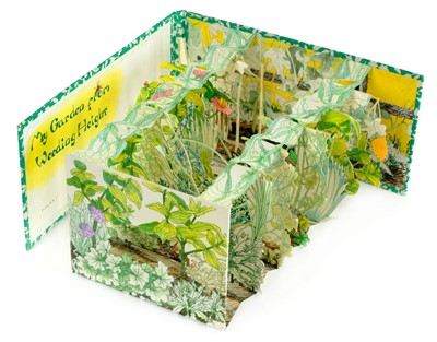 Lot 575-Peepshow book. My Garden from Weeding Height, 1993
