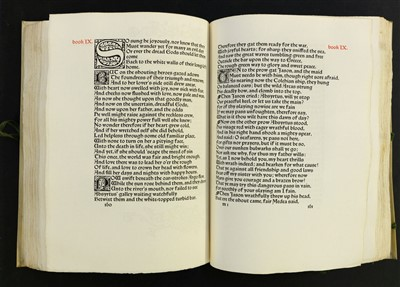 Lot 633-Kelmscott Press. The Life and Death of Jason, 1895