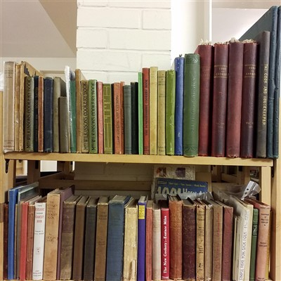 Lot 466 - Cookery. A large collection of late 19th & early 20th century cookery & recipe books