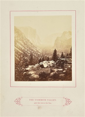 Lot 21-Kneeland (Samuel). The Wonders of the Yosemite Valley, and of California, 1st edition, 1871