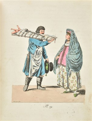 Lot 14-Gruber (J.G. & Geissler, Charles G.H.). Costumes, 1801-4