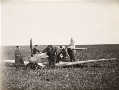 Lot 46-Aviation Photographs, collection including monoplanes and biplanes