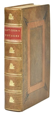Lot 1-Anderson (George). A New Authentic, Complete Collection of Voyages Round The World, c.1786