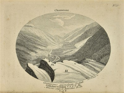 Lot 4-Bourrit (Marc Theodore). A Relation of a Journey to the Glaciers, in the Dutchy of Savoy, 1775