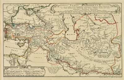 Lot 18-Hase (Johann Matthias). Regni Davidici et Salmonaei descriptio, 1739