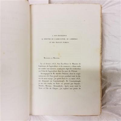 Lot 15-Gaudry (Albert). Recherches scientifiques en orient, 1st edition, 1855
