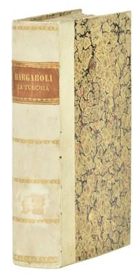 Lot 24-Margaroli (Giovanni Battista).  La Turchia ovvero l'impero Ottomano, 1st edition, Milan, 1829