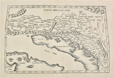 Lot 89-Balkans. Fries (Lorenz). 1535