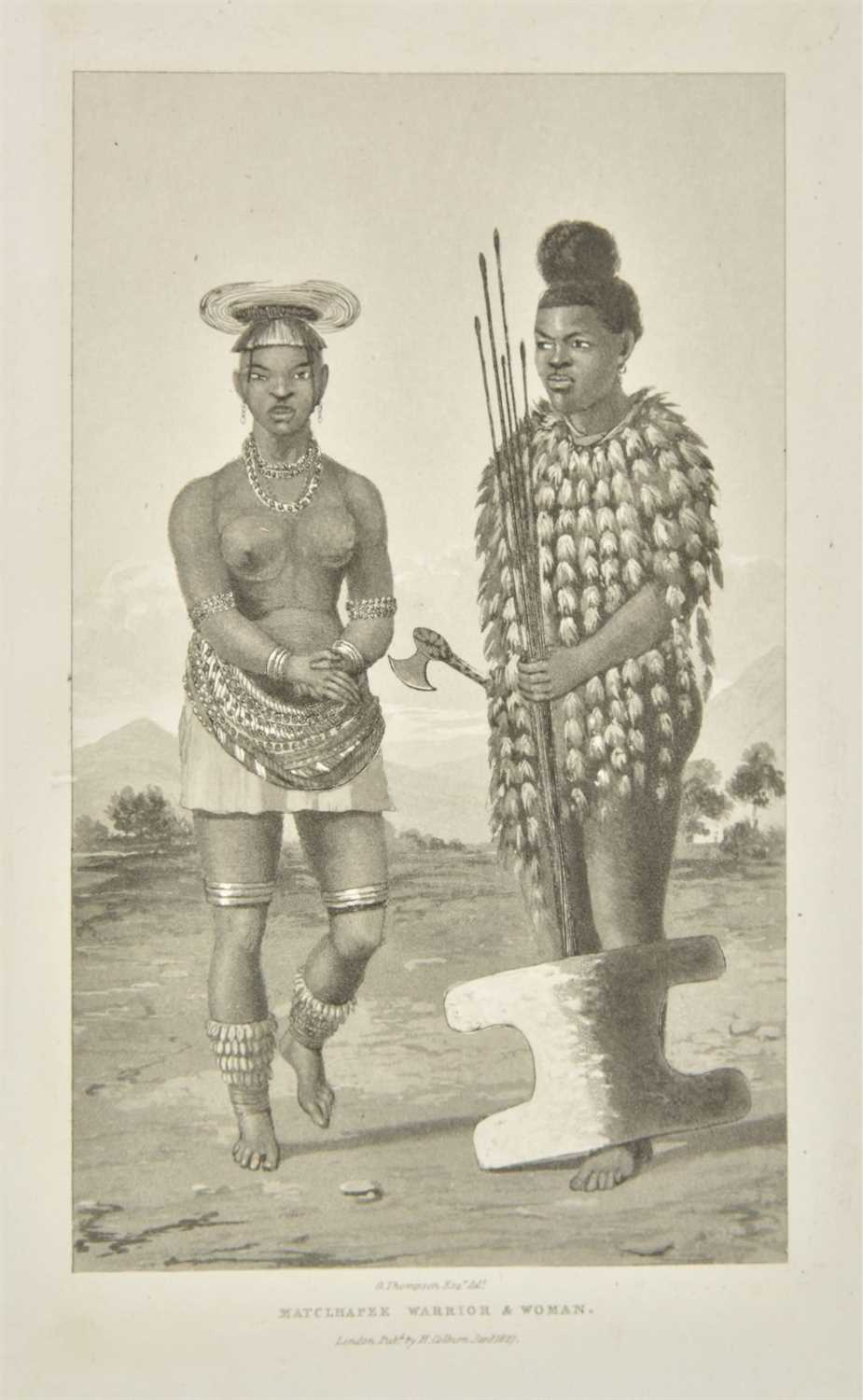 Lot 42-Thompson (George). Travels in Southern Africa, 1st edition, 1827