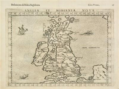 Lot 95-British Isles. Ruscelli (Girolamo), 1599