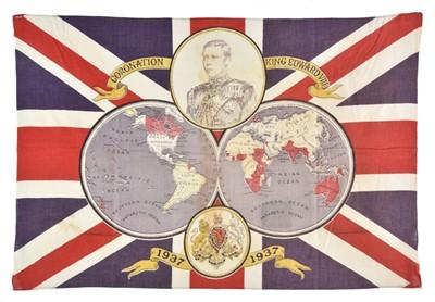 Lot 91-British Empire. Coronation Souvenir  of Edward VIII, 1937