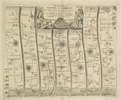 Lot 59-Ogilby (John). Britannia, 1698.