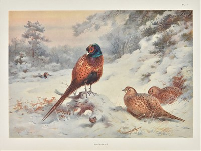 Lot 81-Thorburn (Archibald). Game Birds and Wild-Fowl of Great Britain and Ireland. 1923